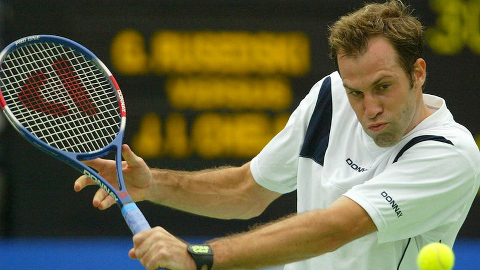 The classic tennis player: Greg Rusedski