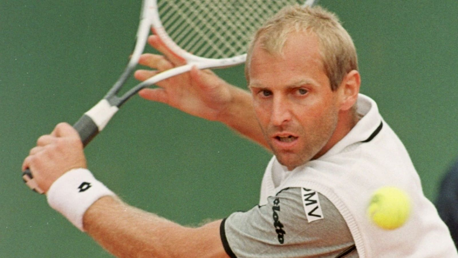 The classic tennis player: Thomas Muster