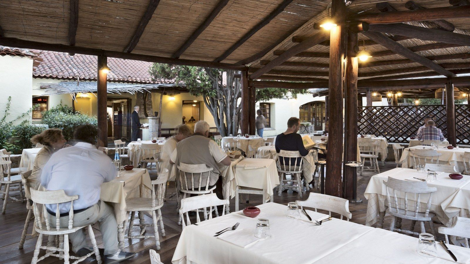 Pomodoro Restaurant outside terrace
